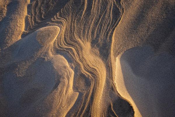 Zandstructuren Noordzeestrand - Terschelling © Jurjen Veerman