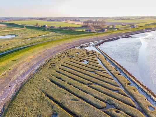 Drone shot Punt van Reide © Jurjen Veerman