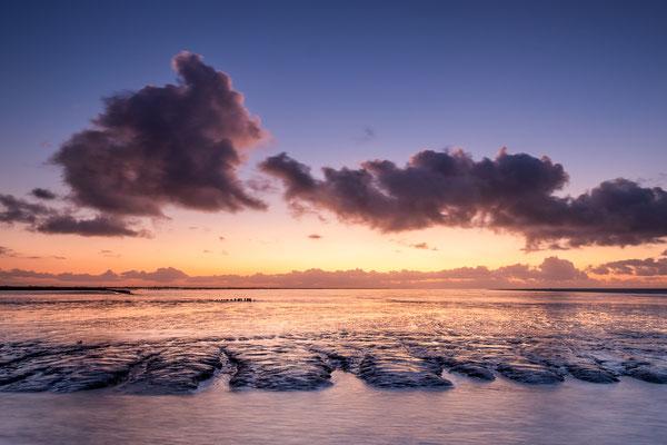 Zonsondergang op het Wad - Holwerd © Jurjen Veerman
