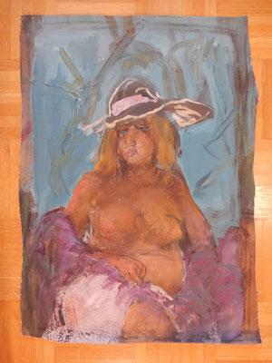 Rolf Seilaz Paris Frau mit Hut 2