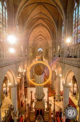 Blick Richtung Orgel