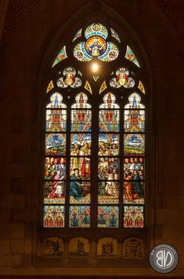 Eines der herausragenden Elemente des Mariendoms sind seine Fenster