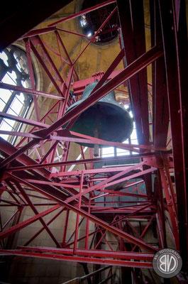 Die Immaculata. Die größte Glocke des Mariendoms.