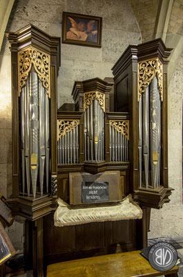 Die Orgel, die von Anton Bruckner bespielt wurde