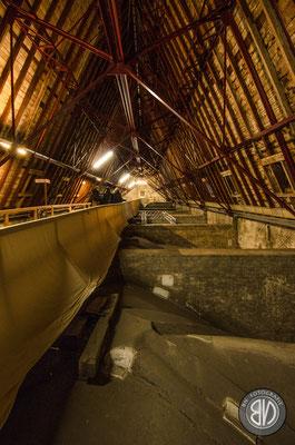 Der Dachstuhl des Mariendoms