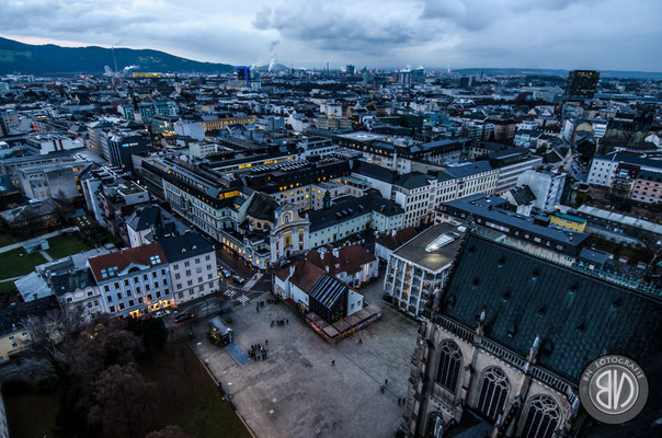 Blick über Linz