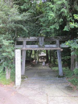 いい雰囲気だったので立ち寄った皇産霊神社