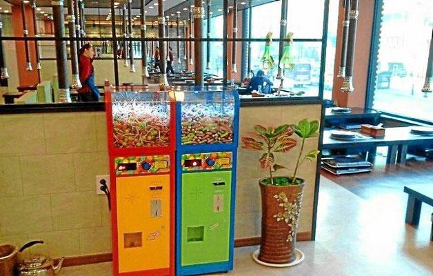 Verkaufsautomat im Restaurant