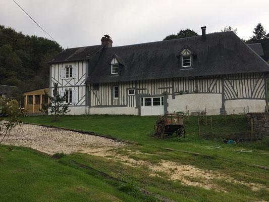 Nouvelle façade arrière du pressoir