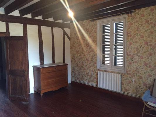 Deuxième chambre avant mise la en peinture