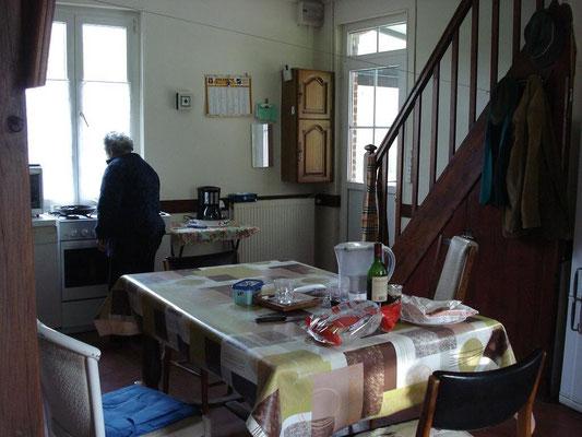 Ancienne salle à manger-cuisine