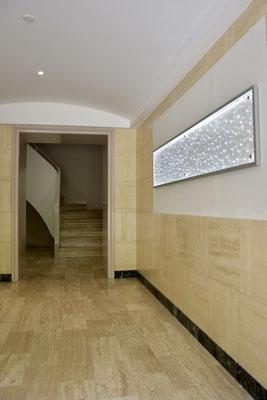 Nouveau hall A avec panneau lumineux et nouvelles BAL