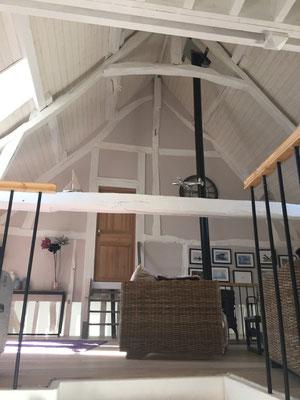 Le grand salon entiérement rénové