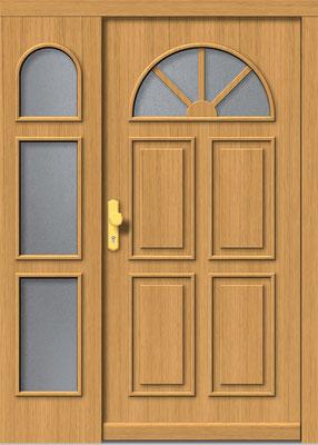Holztür Wirmling