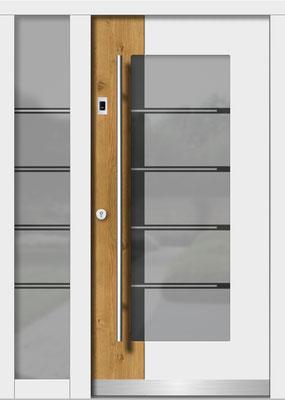 Holztür Tollet