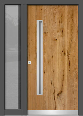 Holztür Ampflwang im Hausruck