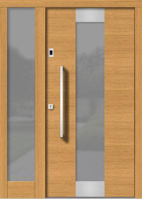 Holztür Pram