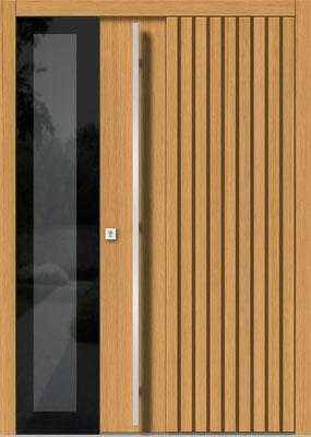 Holztür Weibern