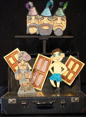 Der Teufel mit den drei goldenen Haaren / Bei den Räubern / Mobiles Kindertheater Berlin / Theater Malinka