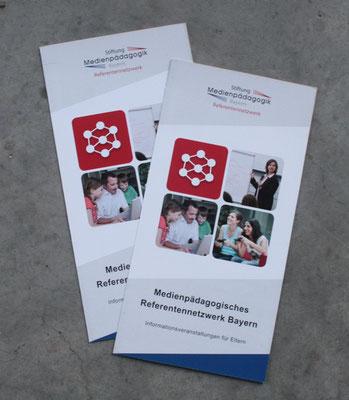 Faltblatt Medienpädagogisches Referentennetzwerk