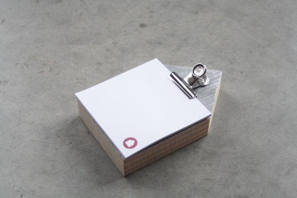 Notizzettel als Kundenweihnachtsgeschenk