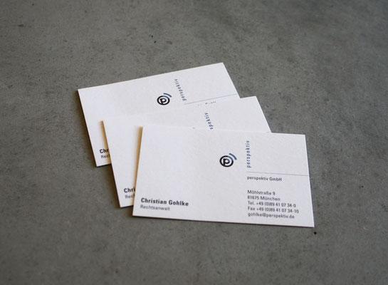 Geschäftsausstattung für perspektiv GmbH