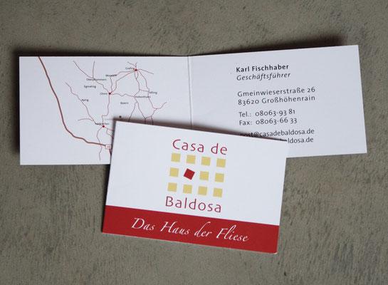 Branding, Logoentwicklung und Geschäftsausstattung für Casa de Baldosa