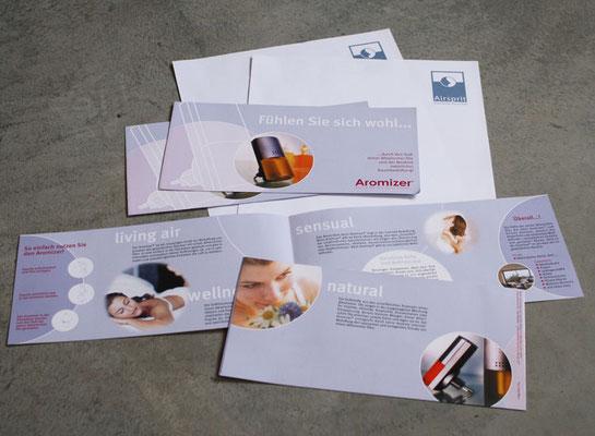Flyer Din lang quer für Airomizer von Aisprit