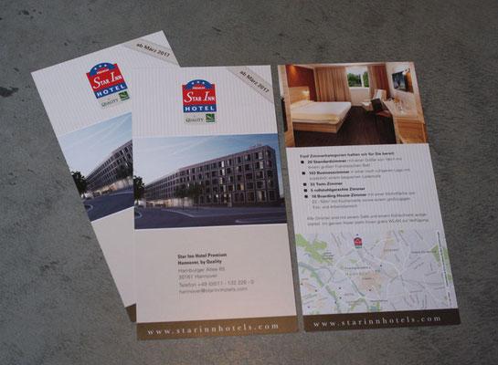 Flyer Star Inn Hotel Premium Hannover