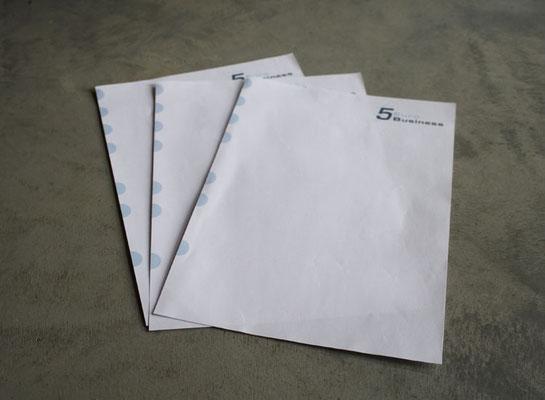 Logoentwicklung und Briefpapier für 5 Euro Business