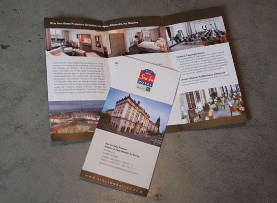 Hotelflyer Star Inn Hotel Premium Dresden