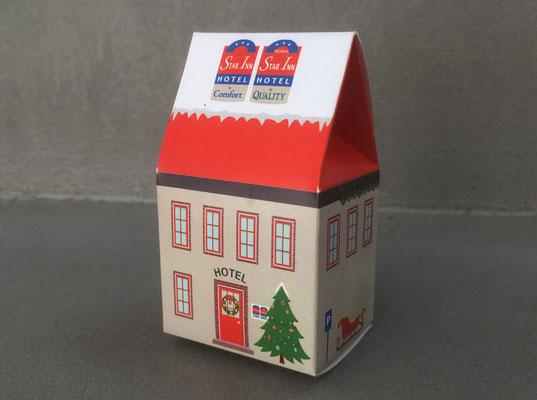 Weihnachtspost Lebkuchenhaus