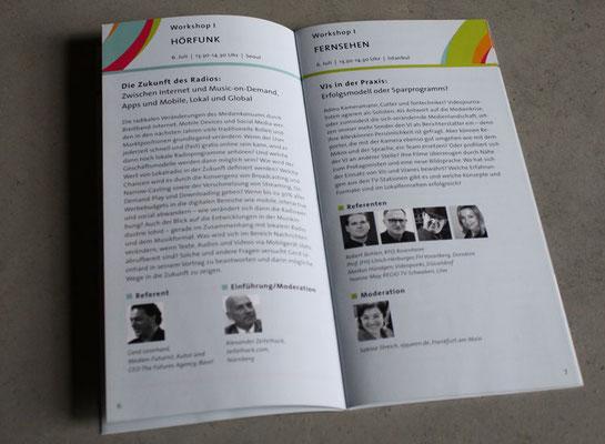 Din lang Broschüre Lokalrundfunktage 2010