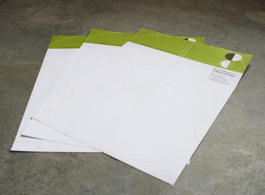 Briefpapier für Yogalehrerin