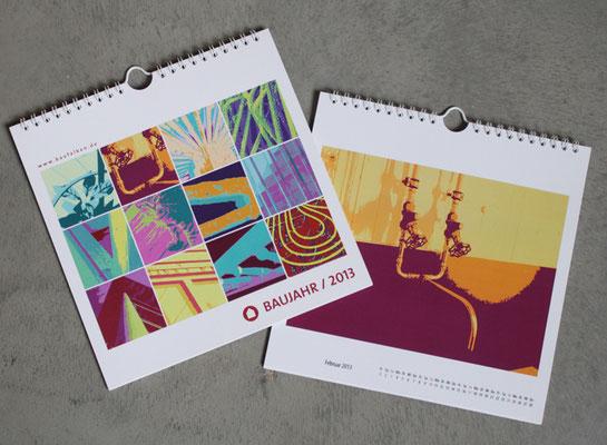 Kalender für Architekten Hans Baumann & Freunde