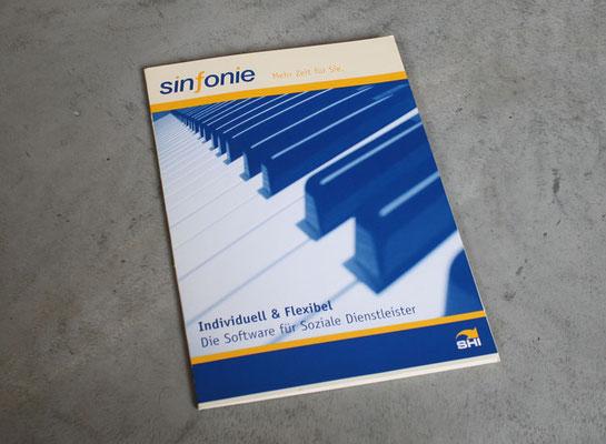 Präsentationsmappe für sinfonie