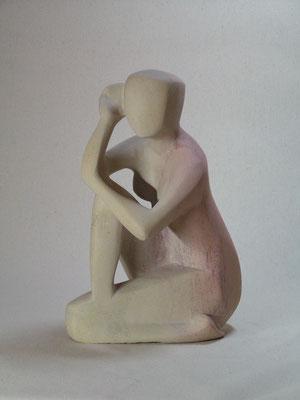 Lauschende, 2008, Kisi Stone