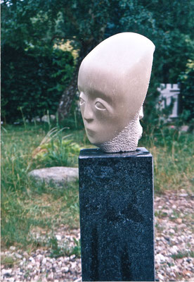 Januskopf, 1999, Speckstein