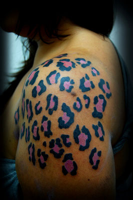 TATUAJE ANIMAL PRINT, animal print tattoo