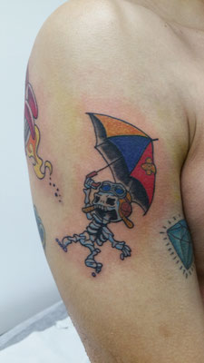umbrella tattoo