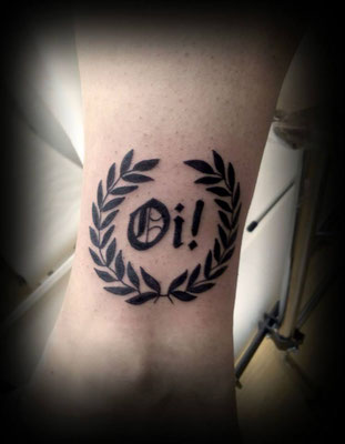 oi! tattoo
