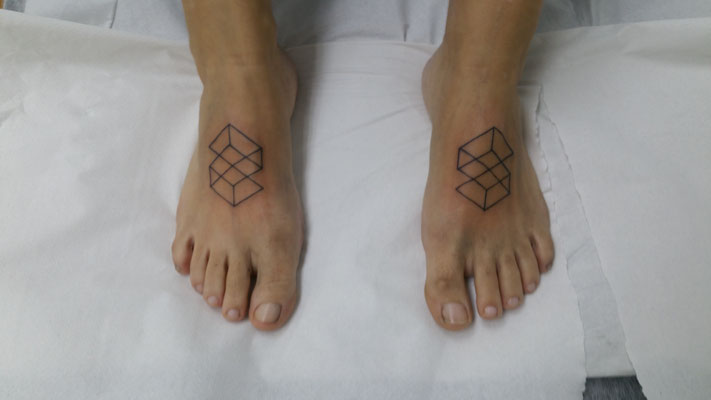 geometry tattoo