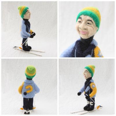 オーダーメイド スキーが趣味のご主人へのプレゼント