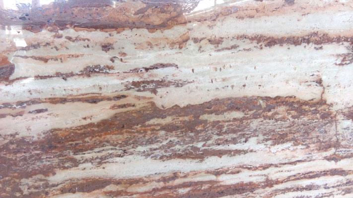 Piedra roja pulida