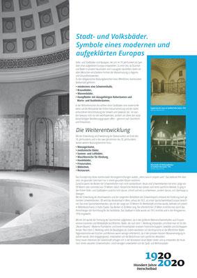 Symbole eines aufgeklärten Europas_Ausstellung Mannheim 100 Jahre Herschelbad. Konzeption & Text: Kathleen Hirschnitz. Gestaltung: Frank Weiss