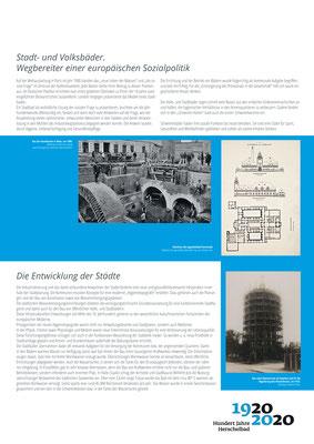 Wegbereiter einer europäischen Sozialpolitik_Ausstellung Mannheim 100 Jahre Herschelbad. Konzeption & Text: Kathleen Hirschnitz. Gestaltung: Frank Weiss