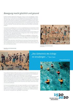 Bedeutung von Aquafitness_Ausstellung Mannheim 100 Jahre Herschelbad. Konzeption & Text: Kathleen Hirschnitz. Gestaltung: Frank Weiss