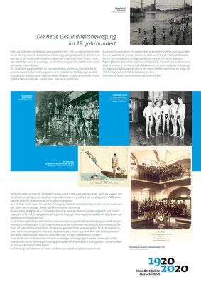 Die neue Gesundheitsbewegung_Ausstellung Mannheim 100 Jahre Herschelbad. Konzeption & Text: Kathleen Hirschnitz. Gestaltung: Frank Weiss