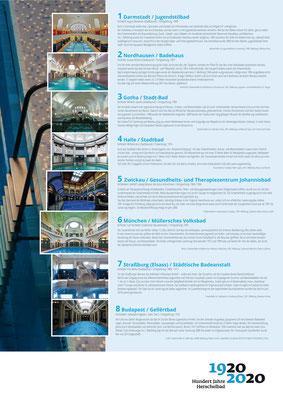 Beispiele von Erfolgsmodellen_Ausstellung Mannheim 100 Jahre Herschelbad. Konzeption & Text: Kathleen Hirschnitz. Gestaltung: Frank Weiss