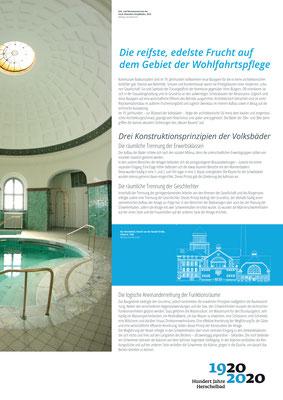 Die Konstruktionsprinzipien_Ausstellung Mannheim 100 Jahre Herschelbad. Konzeption & Text: Kathleen Hirschnitz. Gestaltung: Frank Weiss